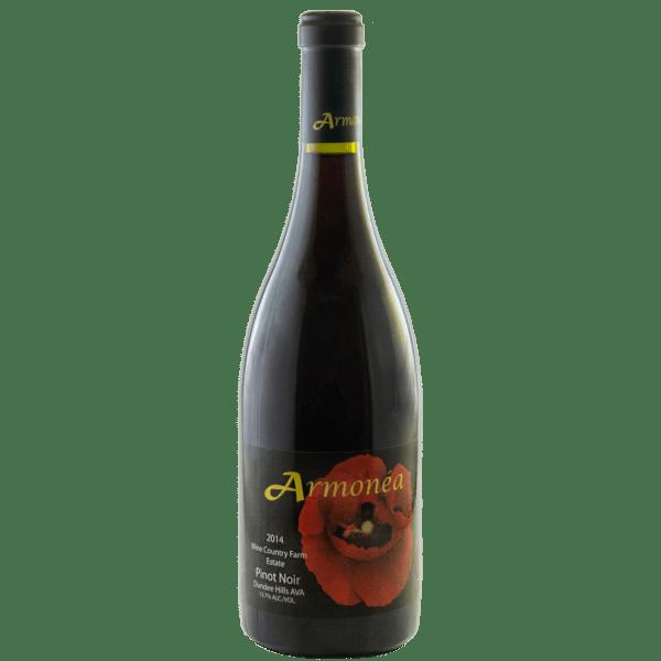 Armonea Pinot Noir wine country farm